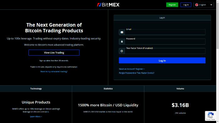 خرید بیت کوین از صرافی Bitmex