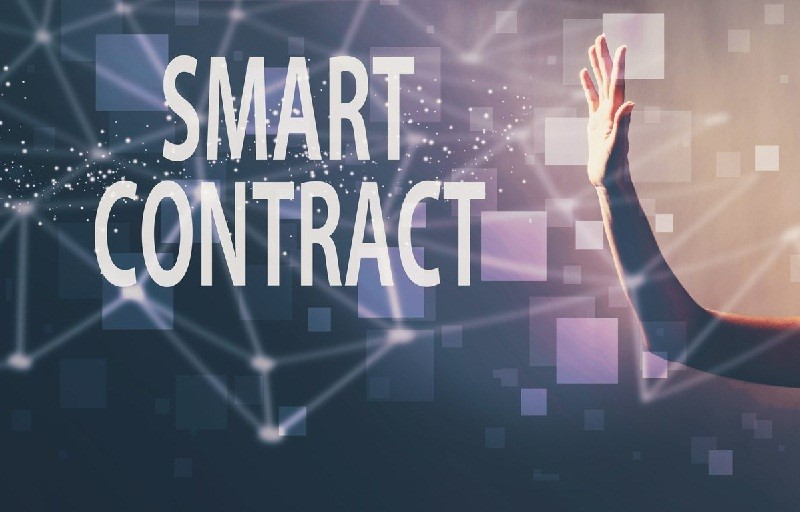 first use of smart contract