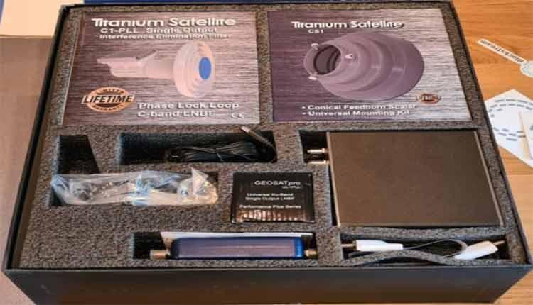 سیستم ماهواره ای رمزارز