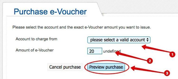 Purchase New e-Voucher